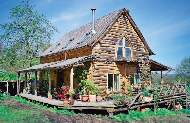 Ben Law's Woodland Cottage