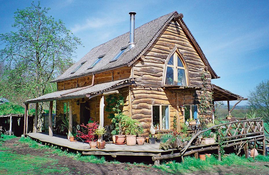Ben Law's Woodland Cottage